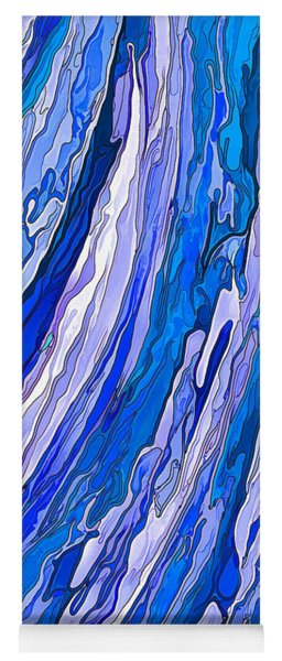 Ocean Wave Yoga Mat