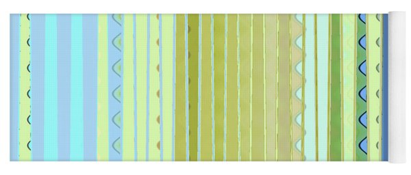 Oceana Stripes Yoga Mat