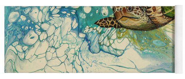 Ocean's Call Yoga Mat