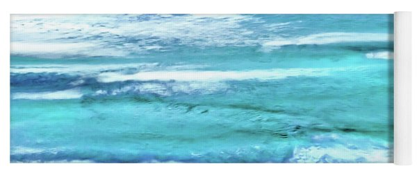 Oceans Of Teal Yoga Mat