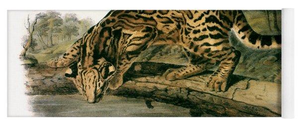 Ocelot (felis Pardalis) Yoga Mat