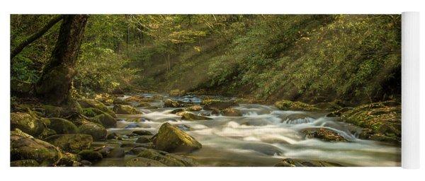 Oconaluftee River Yoga Mat