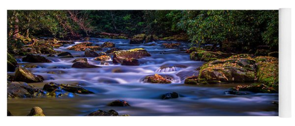 Oconaluftee River Run Yoga Mat