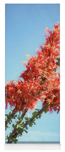 Ocotillo In Bloom Yoga Mat
