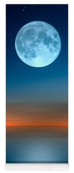 October Moon Yoga Mat