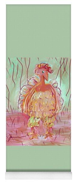Odd Chicken Yoga Mat