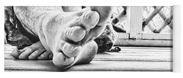 Off My Feet Yoga Mat