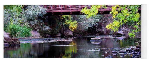 Ogden River Bridge Yoga Mat
