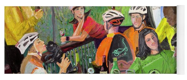 Oil- Luncheon Of The Cycling Party Yoga Mat
