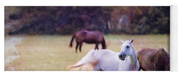 Ok Horse Ranch_1c Yoga Mat