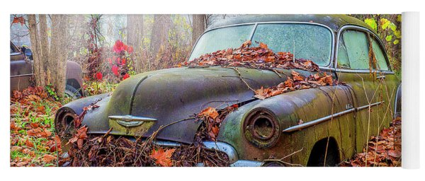 Ol' 49 Chevy Coupe Yoga Mat