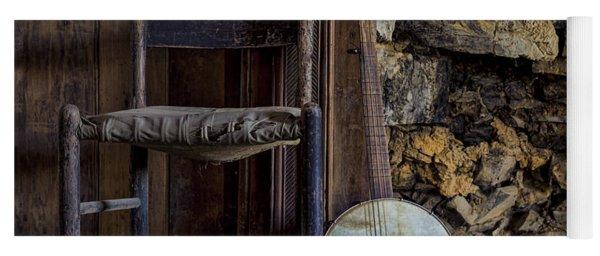 Old Banjo Yoga Mat