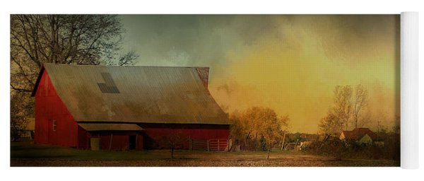 Old Barn With Charm Yoga Mat