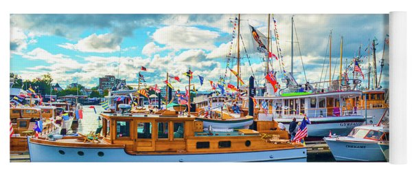 Old Boats Yoga Mat