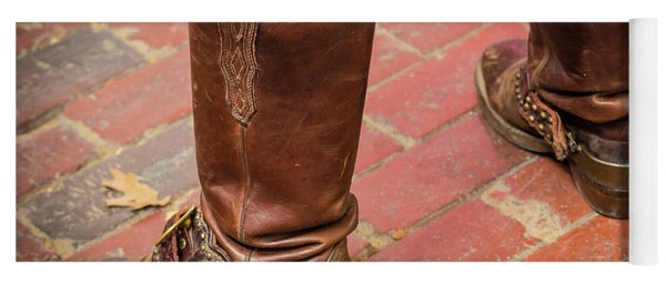 Old Boots Yoga Mat