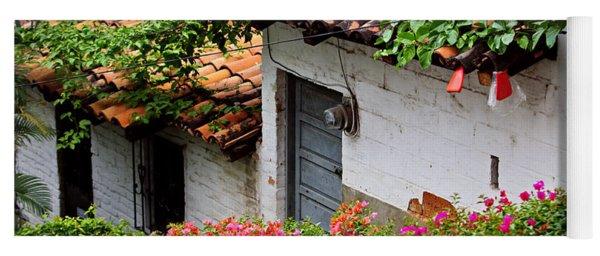Old Buildings In Puerto Vallarta Mexico Yoga Mat