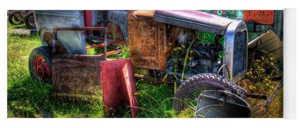 Old Car 3 Yoga Mat