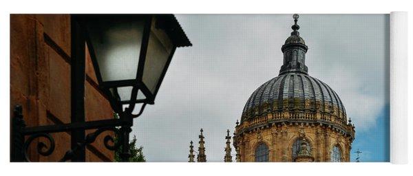 Old Cathedral, Salamanca, Spain  Yoga Mat