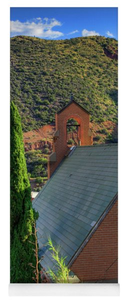 Old Church In Bisbee Yoga Mat