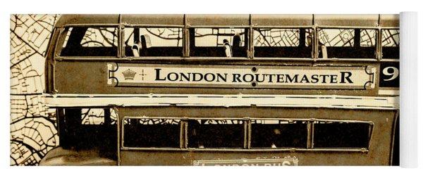 Old City Bus Tour Yoga Mat