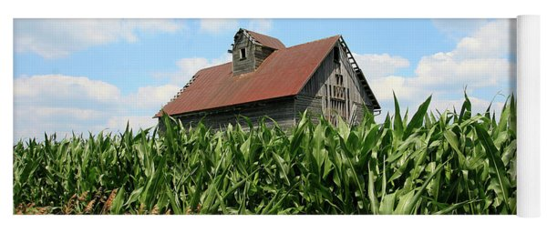 Old Corn Crib Yoga Mat