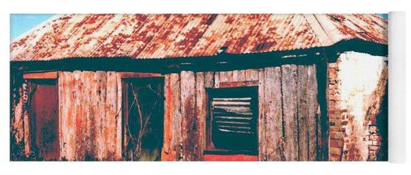 Old Farm House Yoga Mat