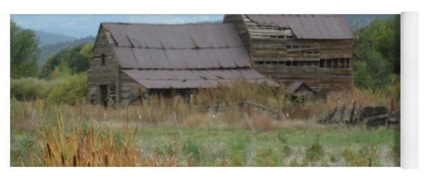 Old Farmhouse Yoga Mat