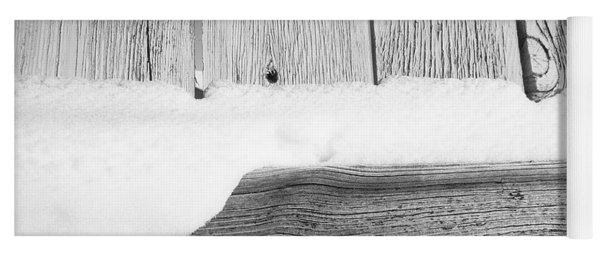 Old Fence Yoga Mat