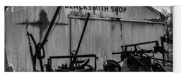 Old Frisco Blacksmith Shop Yoga Mat