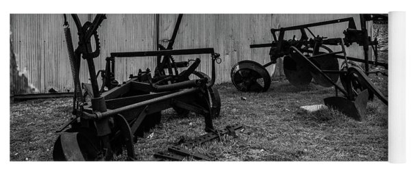 Yoga Mat featuring the photograph Old Frisco Blacksmith Shop by Nicole Lloyd