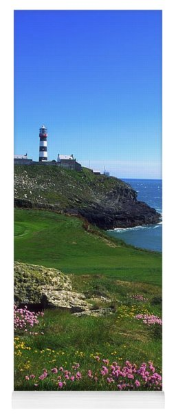 Old Head Of Kinsale Lighthouse Yoga Mat