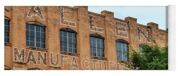 Old Mill Building In Buford Yoga Mat
