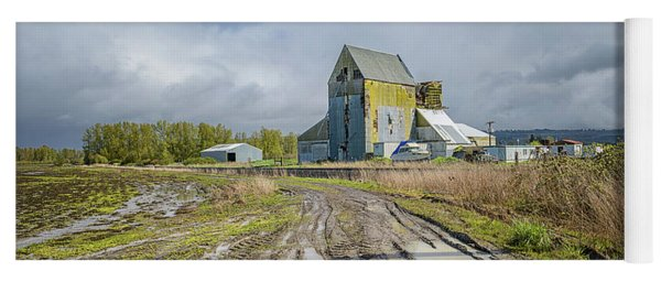 Yoga Mat featuring the photograph Old Mill by Craig Leaper