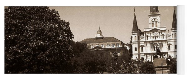 Old New Orleans Photo - Saint Louis Cathedral Yoga Mat