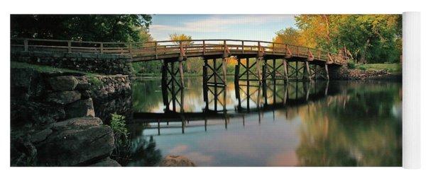 Old North Bridge Yoga Mat