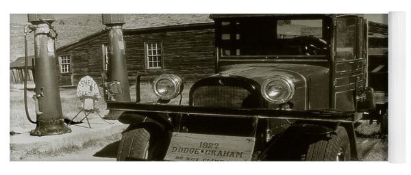 Old Pickup Truck 1927 - Vintage Photo Art Print Yoga Mat