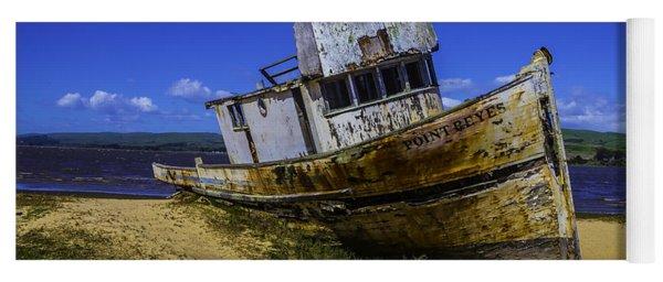 Old Point Reyes Boat Yoga Mat