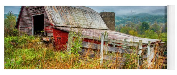 Old Smoky Mountains Barn Yoga Mat