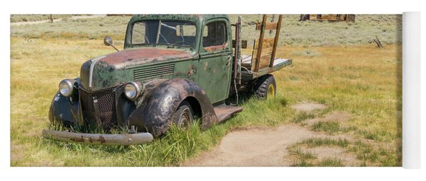 Old Truck At The Ghost Town Of Bodie California Dsc4404 Yoga Mat