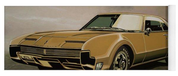 Oldsmobile Toronado 1965 Painting Yoga Mat