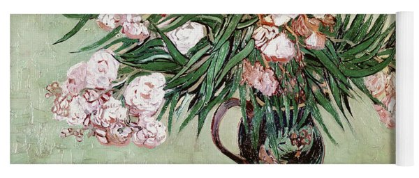 Oleanders And Books Yoga Mat