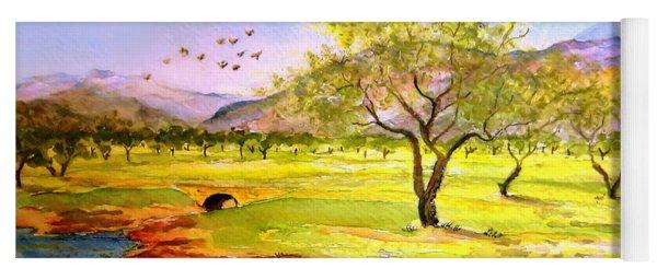 Olive Grove Yoga Mat