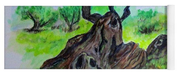 Olive Tree Yoga Mat