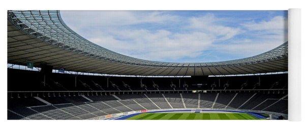 Olympic Stadium Berlin Yoga Mat