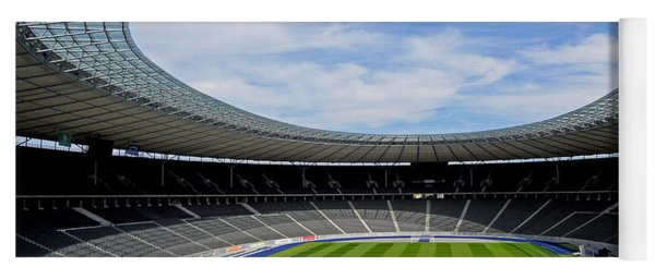 Olympic Stadium Berlin Yoga Mat