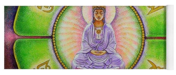 Om Mani Padme Hum Kuan Yin Yoga Mat