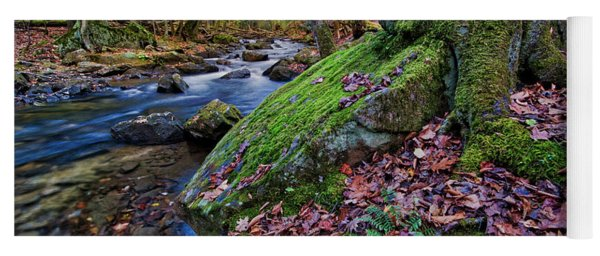 On The Banks Of Laurel Fork Yoga Mat