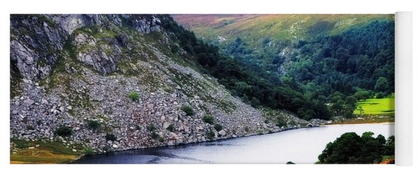 On The Shore Of Lough Tay. Wicklow. Ireland Yoga Mat