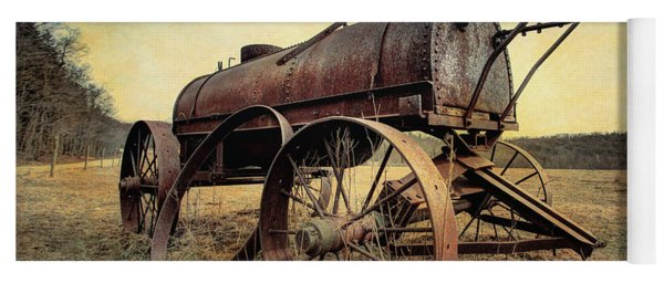 On The Water Wagon - Agricultural Relic Yoga Mat