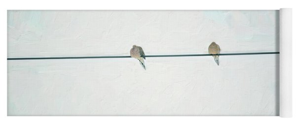 On The Wire Yoga Mat